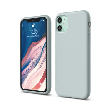 [엘라고] 아이폰11 실리콘 케이스_민트