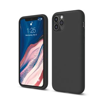 [엘라고] 아이폰11 PRO 실리콘 케이스_블랙