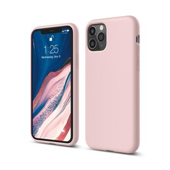 [엘라고] 아이폰11 PRO 실리콘 케이스_러블리핑크
