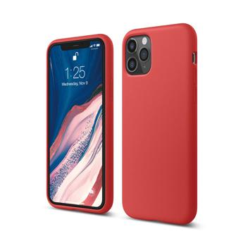 [엘라고] 아이폰11 PRO 실리콘 케이스_레드