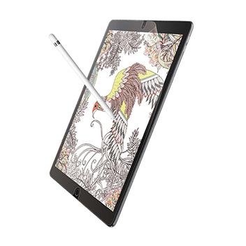 [엘레컴]종이질감 필름 iPad 10.2인치 반사 방지 켄트지TB-A19RFLAPLL