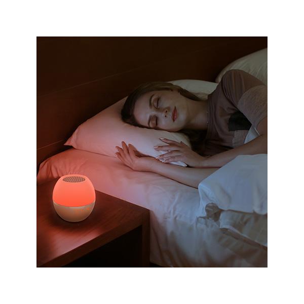무드등 을 켜고 자고 있는 모습